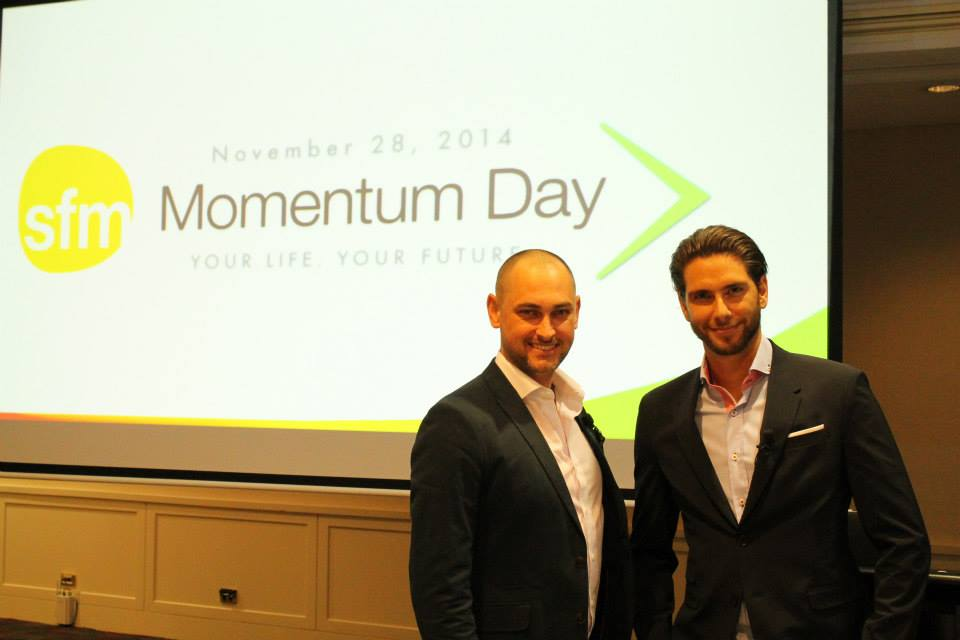 Jay Kubassek and Stuart Ross Momentum Day #6