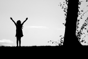 Have Faith In You, Successful girl holding here hands up, Carina Asp