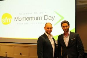 Jay Kubassek and Stuart Ross Momentum Day #6